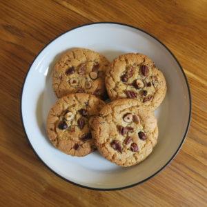 Cookies noisettes - noix de pecan